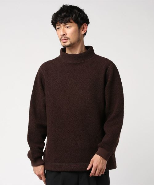 A VONTADE / アボンタージ ウールパイル プルオーバーカットソー WOOL PILE P/O