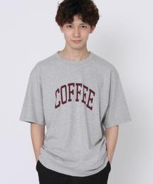 スラブプリントTシャツ
