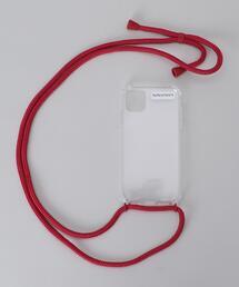 <XOUXOU>iPhone 11 BASIC NECKLACE/モバイルアクセサリー