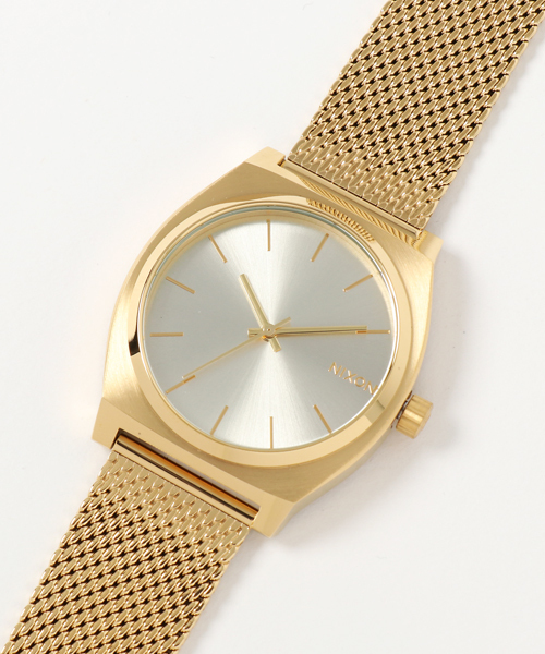 TIME TELLER MILANESE NA11872807-00 ALL GOLD/CREAM