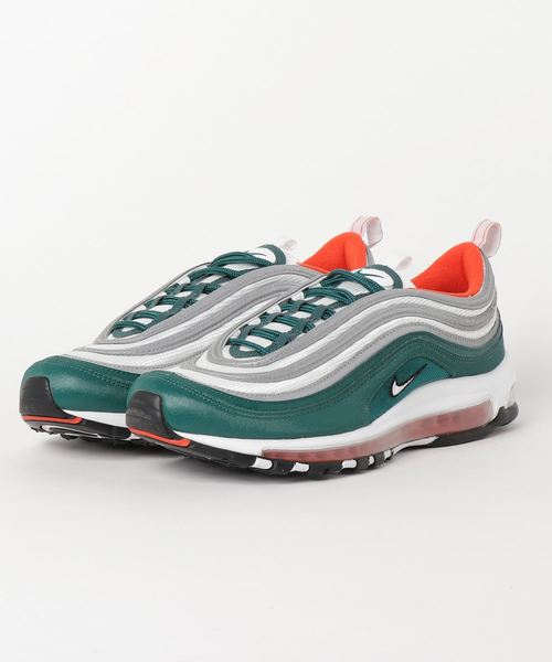 online store e05b1 3bf83 NIKE AIR MAX 97 (RAINFOREST/WHITE-TEAM ORANGE-BLACK) 【SP】