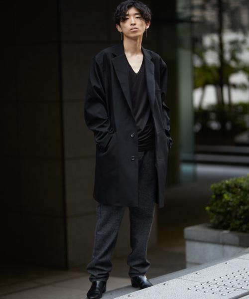GGD / 日本製テーラーワイドコート