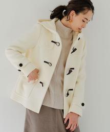 ★★SC ダッフル ショート コート WHITE