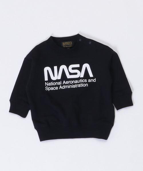 【NASA×BIGFIELD】ワイドスウェット NASA(80~120cm)