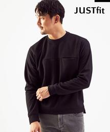 【WEB限定】<green label relaxing>JUSTFIT ポンチ スウェット