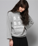 Stussy Women | City Stack 3/4 Crew(運動衫)