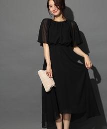 BLISS POINT(ブリスポイント)の【DRESS】JZギャザーマキシワンピース/744841(ドレス)