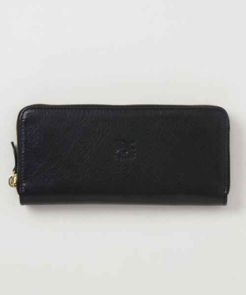 IL BISONTE(イルビゾンテ)の「IL BISONTE / ORIGINAL LEATHER / LONG WALLET(財布)」|ネイビー