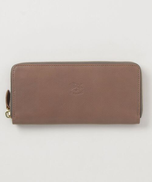 IL BISONTE(イルビゾンテ)の「IL BISONTE / ORIGINAL LEATHER / LONG WALLET(財布)」|グレー