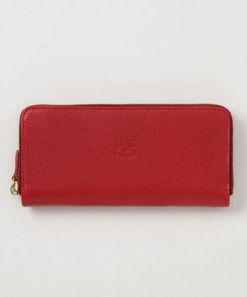 IL BISONTE(イルビゾンテ)の「IL BISONTE / ORIGINAL LEATHER / LONG WALLET(財布)」|レッド