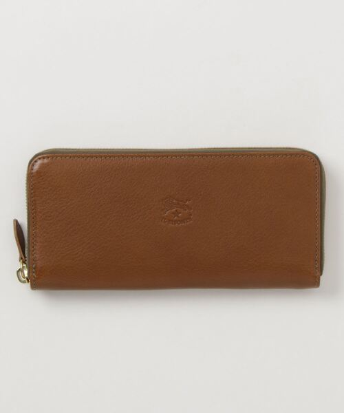 IL BISONTE(イルビゾンテ)の「IL BISONTE / ORIGINAL LEATHER / LONG WALLET(財布)」|オリーブ
