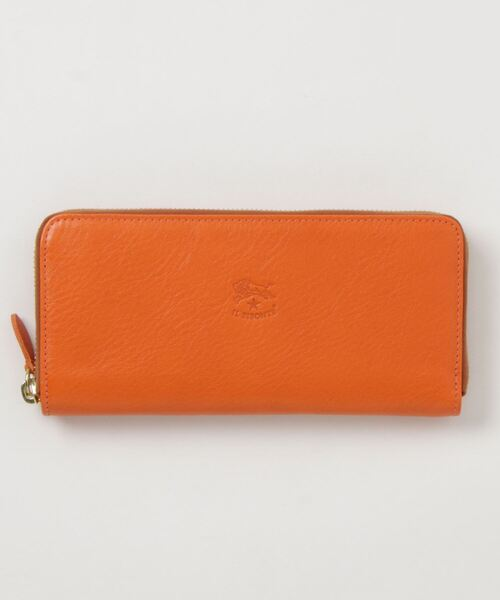IL BISONTE(イルビゾンテ)の「IL BISONTE / ORIGINAL LEATHER / LONG WALLET(財布)」|オレンジ