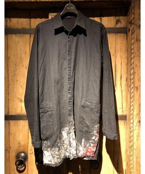 【限定特価】 【別注】KMRii/ケムリ Monolith/Discharged FLASH,ロイヤル Monolith Shirt(シャツ/ブラウス)|KMRii(ケムリ)のファッション通販, 鳴子町:b8ade3f4 --- kredo24.ru