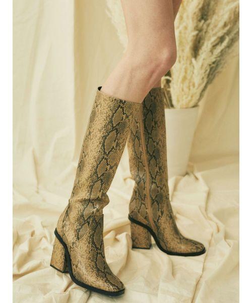最高の品質 ミドルHIGHブーツ(ブーツ)|EVRIS(エヴリス)のファッション通販, カホーPLUS:01c18e2b --- skoda-tmn.ru