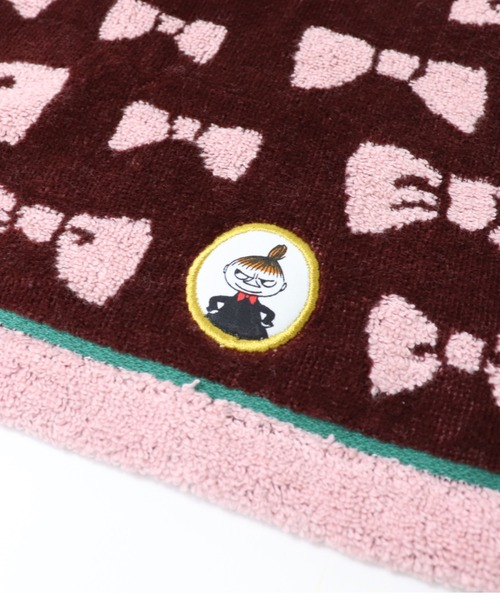【 MOOMIN / ムーミン 】リトルミイのリボン ウォッシュタオル 47-2261065 towel TOB