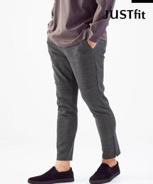【WEB限定】<green label relaxing> JUSTFIT ポンチ スウェット パンツ