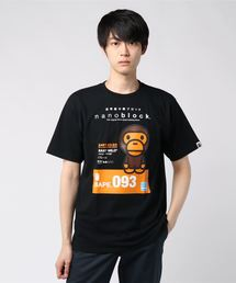 BABY MILO NANOBLOCK TEE #2 M(Tシャツ/カットソー)