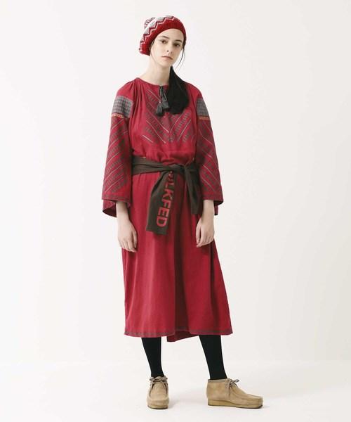高品質の人気 【セール】TASSEL EMBROIDERY EMBROIDERY DRESS(ドレス)|MILKFED.(ミルクフェド)のファッション通販, 花山村:789cd1bd --- skoda-tmn.ru