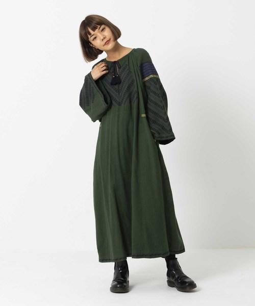 驚きの値段 【セール EMBROIDERY】TASSEL EMBROIDERY DRESS(ドレス)|MILKFED.(ミルクフェド)のファッション通販, デジコレクション:f6e1b24c --- skoda-tmn.ru