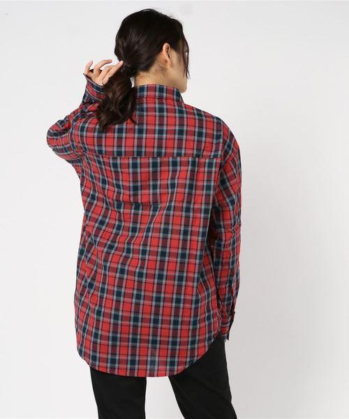 AZIONE/アジオネ/チェックビックシャツ