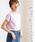 coen(コーエン)の「【WEB限定カラーに新色ブラウン登場】USAコットンハイネックTシャツ(Tシャツ/カットソー)」|ライラック