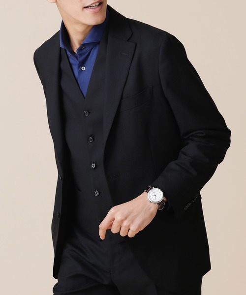 最高の品質の イタリア生地ソリッドジャケットRG(セットアップ対応)(スーツジャケット) nano・universe(ナノユニバース)のファッション通販, 創作菓子悠:25d1910d --- annas-welt.de