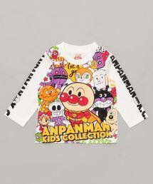 ANPANMAN KIDS COLLECTION(アンパンマンキッズコレクション)の【アンパンマン】キャラいっぱいロンT(Tシャツ/カットソー)