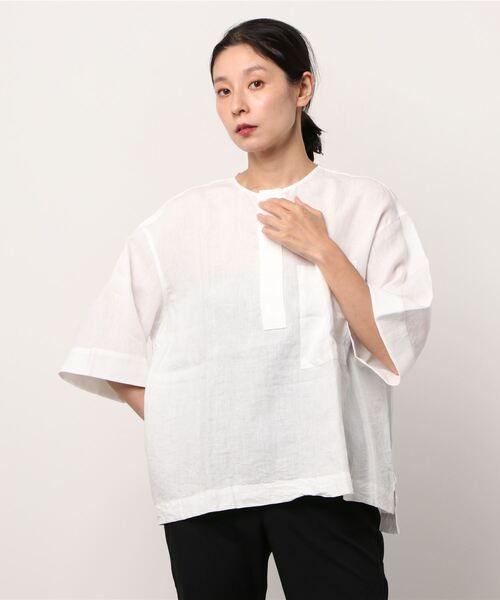 LE GLAZIK / ルグラジック リネンシャツ LINEN SHIRTS #JL3744