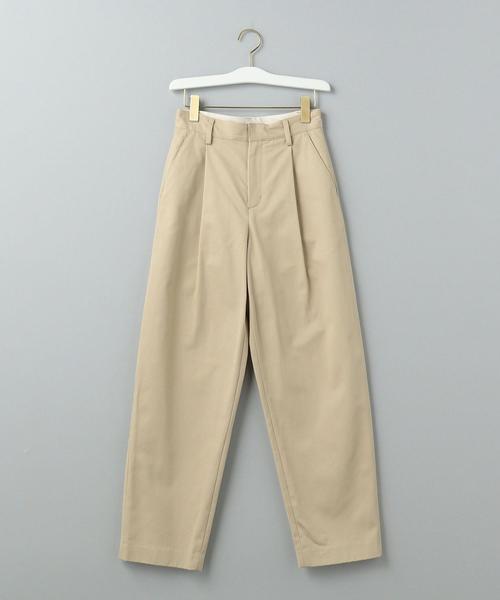 Traditional Weatherwear(トラディショナルウェザーウェア)の「【WORK TRIP OUTFITS】STRAIGHT PANTS / トラディショナル ウェザーウェア(パンツ)」|ベージュ