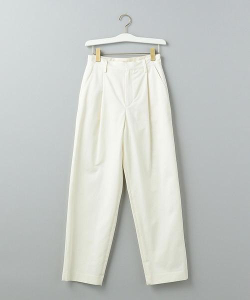 Traditional Weatherwear(トラディショナルウェザーウェア)の「【WORK TRIP OUTFITS】STRAIGHT PANTS / トラディショナル ウェザーウェア(パンツ)」|ホワイト