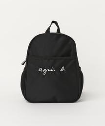 87b6d70d40b8c アニエスベー)の「GL11 E BAG ロゴ刺繍ミニリュックサック. ¥7,776. agnes b. バックパック/リュック