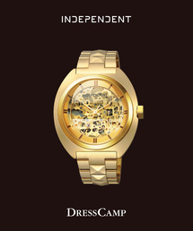 INDEPENDENT インディペンデント INNOVATIVE line DRESSCAMP コラボモデル STUDS SKELETON(腕時計)