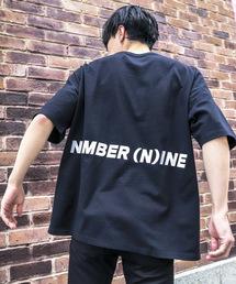 FREAK'S STORE(フリークスストア)のWEB限定 NUMBER (N)INE DENIM/ナンバーナインデニム 別注ビッグシルエット バックプリント ロゴ 半袖Tシャツ/オーバーサイズカットソー(Tシャツ/カットソー)