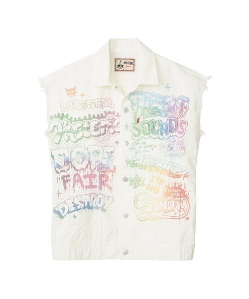DOPE FAIR オーバーサイズノースリーブシャツ