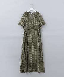 <6(ROKU)>TSUBU PRINT DRESS/ワンピース