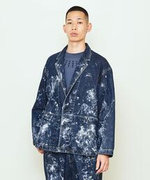 UNITED ARROWS & SONS(ユナイテッドアローズ&サンズ)PAINTED DENIM JACKET