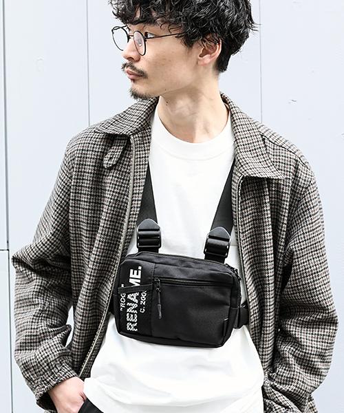 ★WEARISTA MasaakiOoueさん着用★Rename CORDURA 4ベルト ボディショルダーバッグ チェストバッグ
