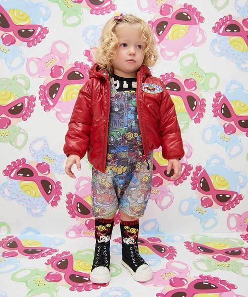 【お買い得!】 Oily Baby総柄 Baby総柄 サーモライトリバーシブルジャケット(ブルゾン) MY|HYSTERIC MINI(ヒステリックミニ)のファッション通販, 五戸町:75a768d9 --- kredo24.ru