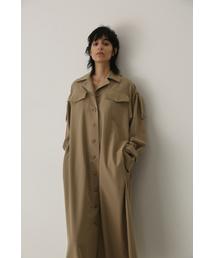 RIM.ARK(リムアーク)のTrench one-piece coat(ワンピース)