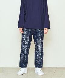 UNITED ARROWS & SONS(ユナイテッドアローズ&サンズ)PAINTED DENIM PANTS