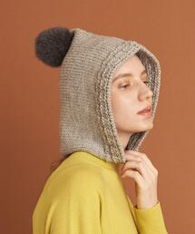 <CLIPPER CASUALS>HOOD KNIT HAT/ハット