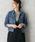 URBAN RESEARCH ROSSO WOMEN(アーバンリサーチ ロッソ)の「ROSSO×Lee 別注 デニムGジャン(デニムジャケット)」 ブルー