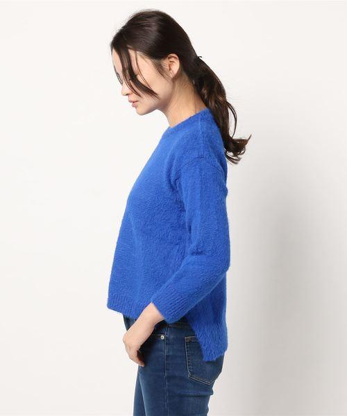 ビッグシルエットシャギーニットセーター