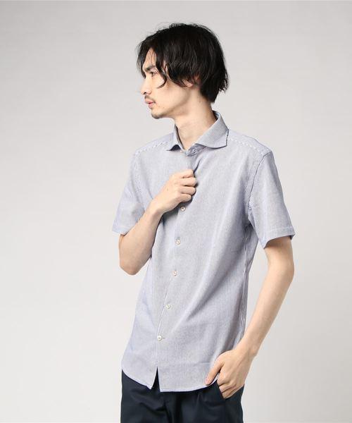 【Recency of Mine】ラッセルストライプシャツ