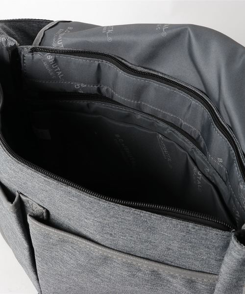 B.C.+ISHUTAL/イシュタル ネイサンA4ショルダーバッグ