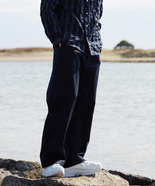激安特価 【セール】トルファンサテン1タックワイドパンツ【MAISON SPECIAL,メゾン SPECIAL/メゾンスペシャル】(チノパンツ) MAISON【MAISON SPECIAL(メゾンスペシャル)のファッション通販, 大宜味村:1b8f7c1f --- fahrservice-fischer.de