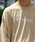 VANS(バンズ)の「VANS / ヴァンズ OFF THE WALL EMB S/S TEE(Tシャツ/カットソー)」 ベージュ