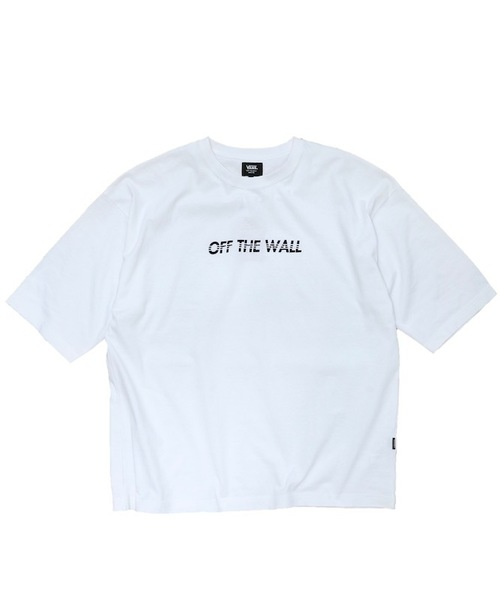 VANS(バンズ)の「VANS / ヴァンズ OFF THE WALL EMB S/S TEE(Tシャツ/カットソー)」 ホワイト