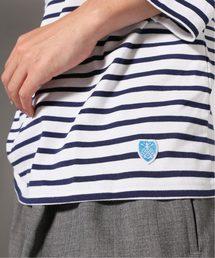 9a8e13cc7094b8 ORCIVAL(オーシバル)の「ORCIVAL / オーチバル : 40/2 STRIPE バスクシャツ