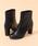 31 Sons de mode(トランテアン ソン ドゥ モード)の「ストレッチショートブーツ(ブーツ)」|ブラック